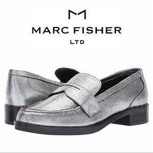 NWT Marc Fisher Leather Loafer